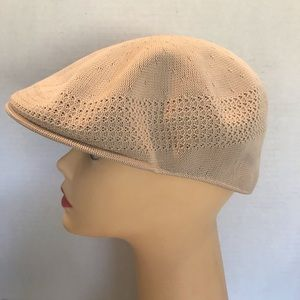 Vintage Original Kangol Taupe/Beige Hat Medium